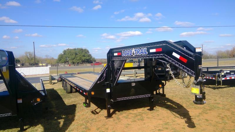 2020 Load Trail 102X25+5 Tandem Dual Flatbed Trailer