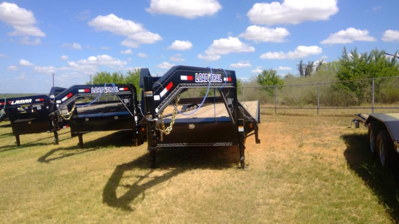 2019 Load Trail 102X34 Gooseneck Flatbed Trailer