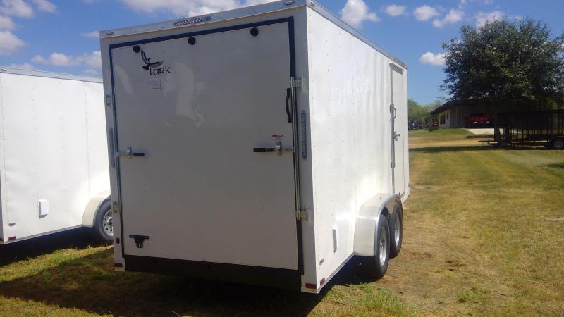 2020 Lark 7X16 Tandem Axle Enclosed Cargo Trailer