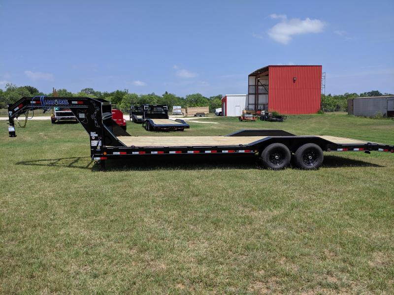 2019 Load Trail 102X26 Tandem Gooseneck Equipment Trailer