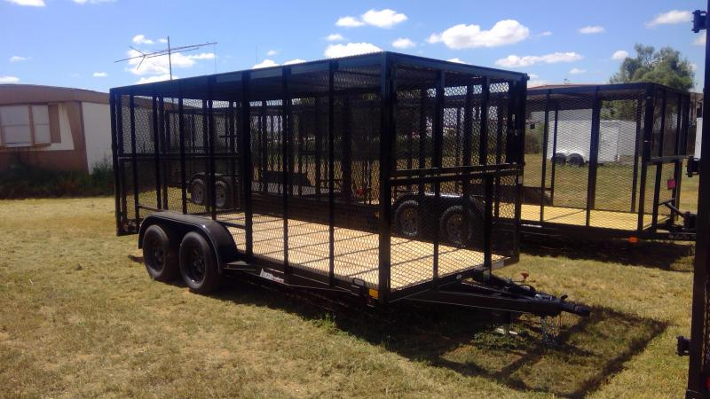 2019 BCI Trailers 77X16 Trash Box Utility Trailer
