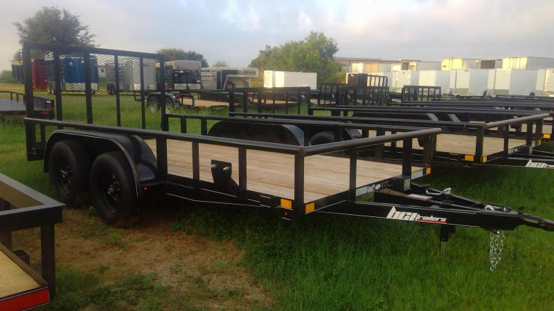 2019 BCI Trailers 77X14 Tandem Axle Utility Trailer