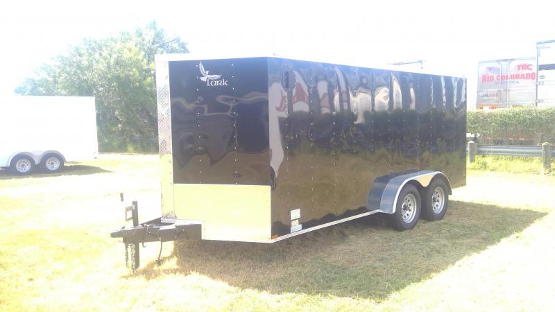 2019 Lark 7X16 Tandem Axle Enclosed Cargo Trailer