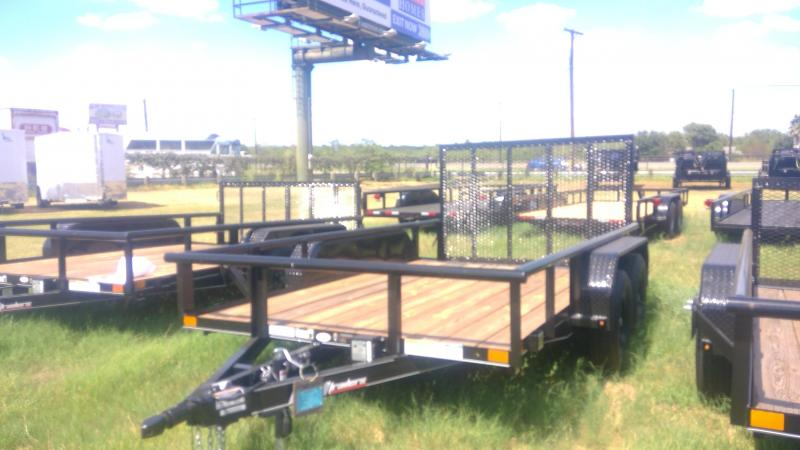 2019 BCI Trailers 77X12 Tandem Axle Utility Trailer