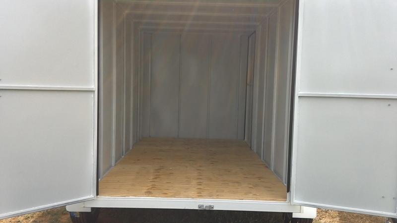 2019 Cheyenne 6X12 Tandem All Steel Enclosed Cargo Trailer