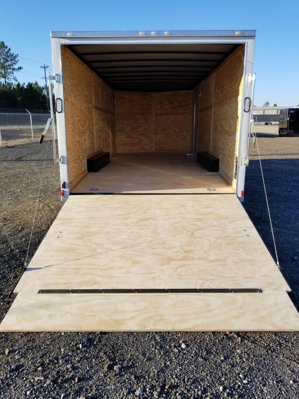 Rock Solid Cargo 8.5X20 Enclosed Cargo Trailer 5200 Axles- In Stock