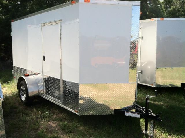 6 x12 SA Enclosed Trailer EXTRA HEIGHT ATP ELECT BRAKE
