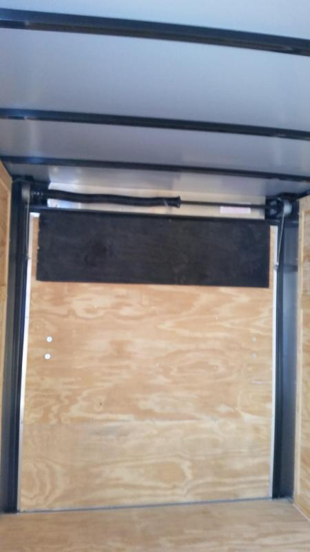New 6x12 CHARCOAL Single Axle Enclosed Cargo Trailer