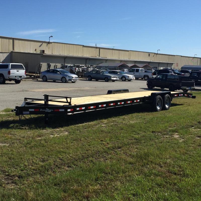Down 2 Earth Trailer 82x34-7000TA Car Equipment Trailer