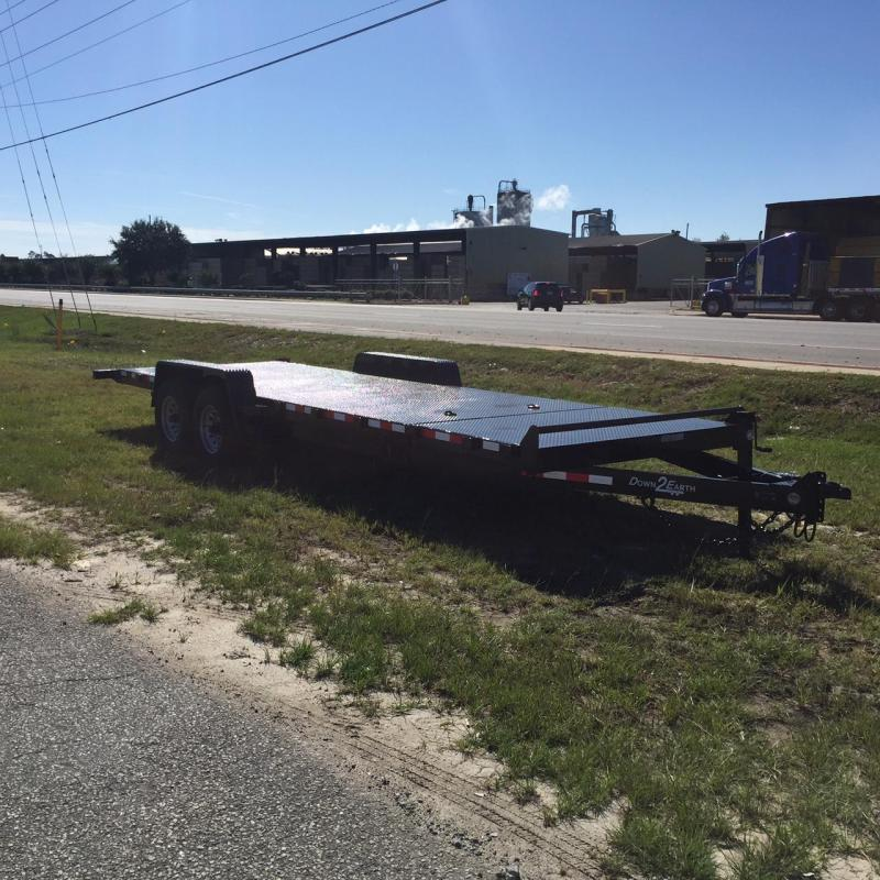 New Down 2 Earth 82x20TA-5200 Steel Deck Gravity Tilt Car Hauler