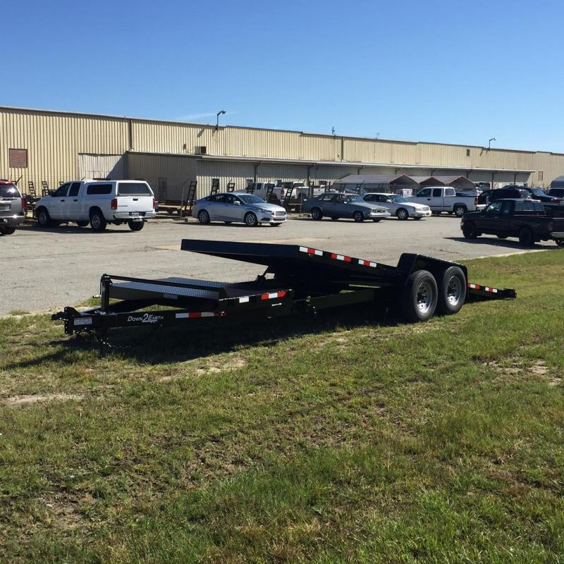 New Down 2 Earth 82x20TA-5200 Steel Deck Gravity Tilt Car Hauler
