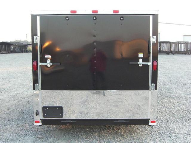 6X12 SVRM Enclosed Bike Trailer W/ Color