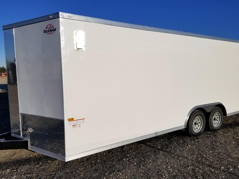 8.5X24 TVR Enclosed Cargo Trailer