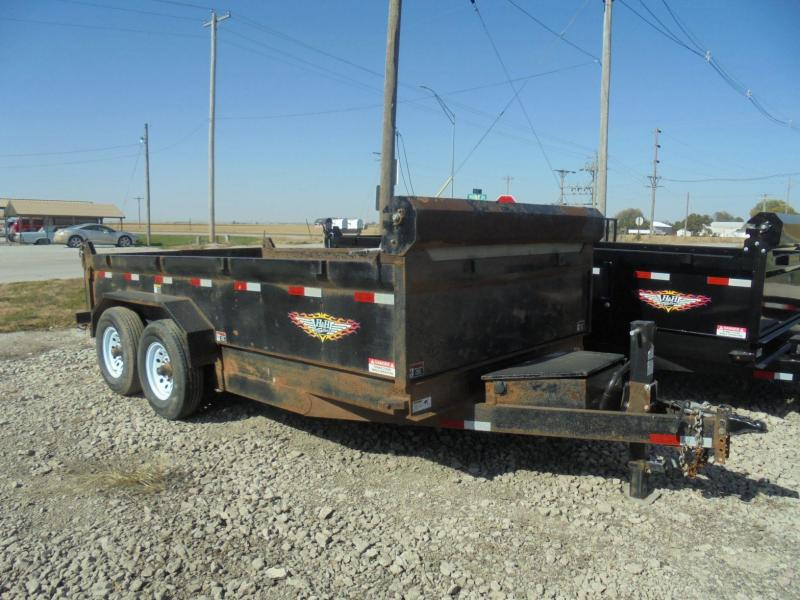 2018 H and H Trailer 83x14 Dump Trailer
