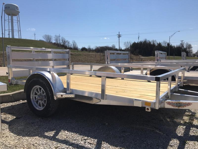 2020 H and H Trailer 8(76)X10 RAILSIDE ALUM 3K