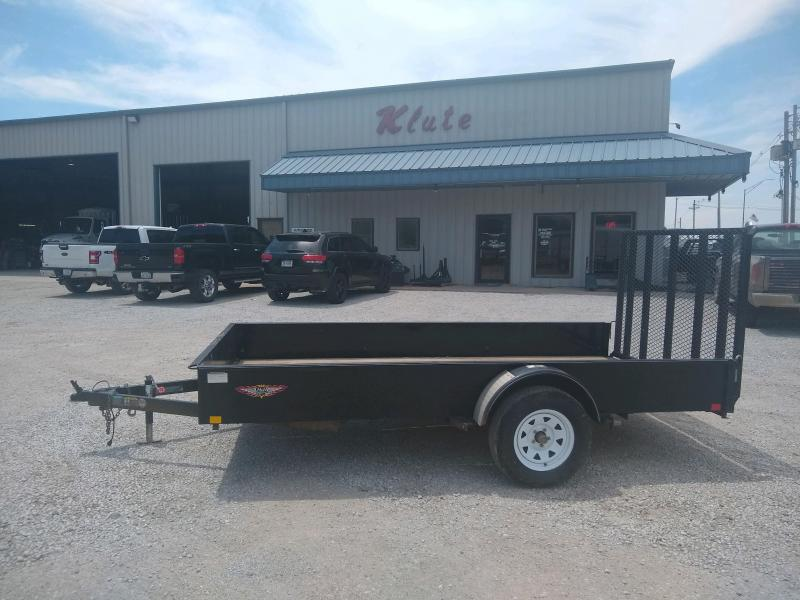 2017 H and H Trailer 76x12 Solid Side Utility Trailer