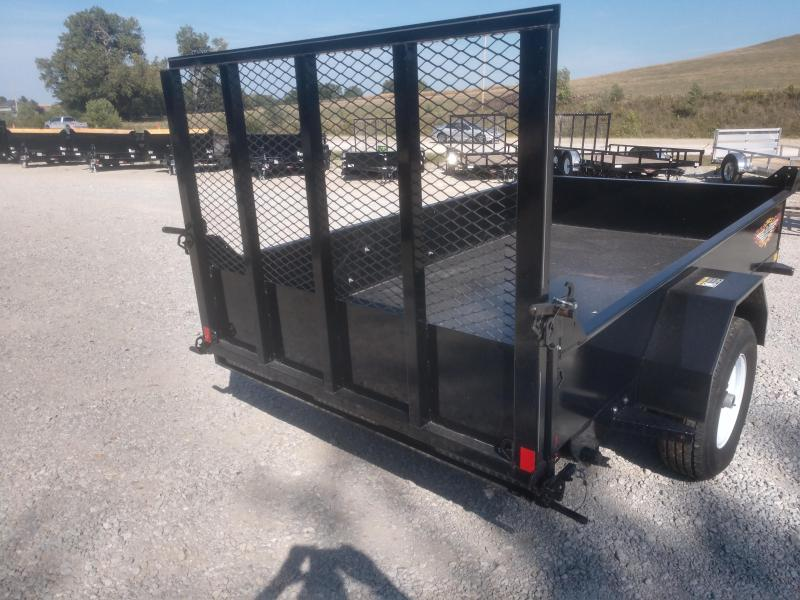 2017 H and H 10' Utility Dump Trailer