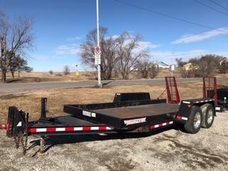2005 Towmaster Trailers 8x16 Flatbed Trailer