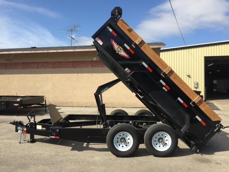 2019 H and H Trailer 83X12 Dump Trailer