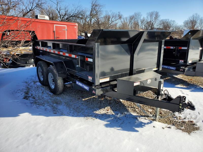 2020 Sure-Trac 82x12 12K HD Low Profile Dump (Dual Ram) Dump Trailer