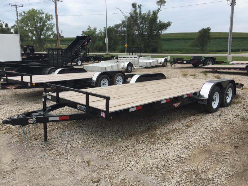 2019 H and H Trailer 82X18+2 GENERAL DUTY 7K DOVE