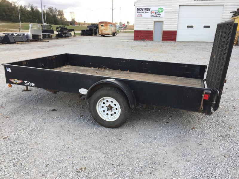 2010 H & H Trailers 12' Utility Trailer