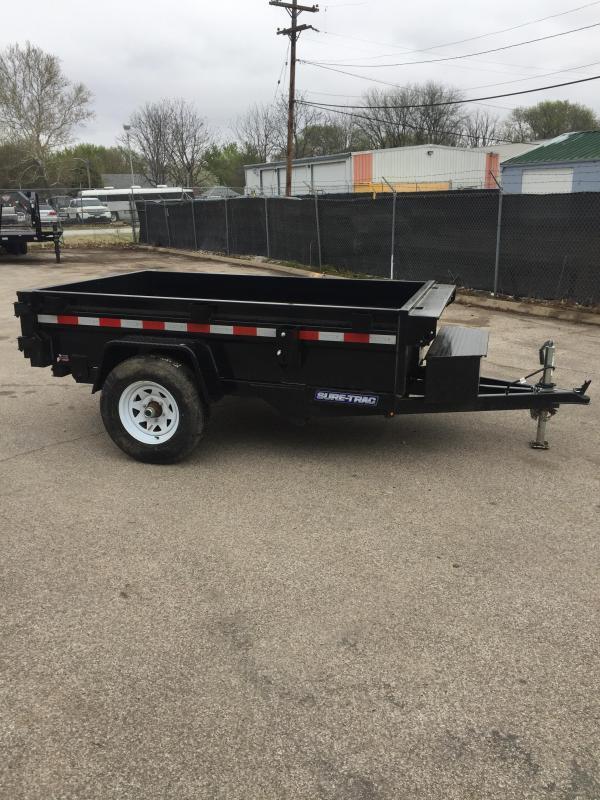 2020 Sure-Trac 62x8 Utility Dump Trailer