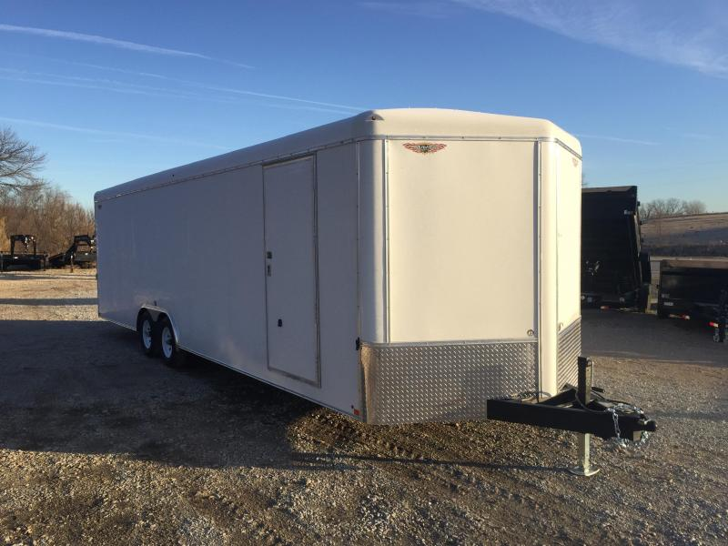 2020 H and H Trailer 101X28 HH R-TOP CARHAUL VNOSE 10K CARGO