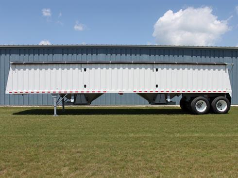 Jet Co 42' Double Hopper Steel Grain Trailer