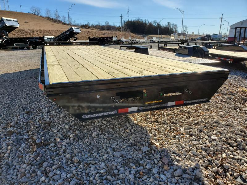 2020 H and H Trailer 102X24 14K STANDARD DUTY DECKOVER