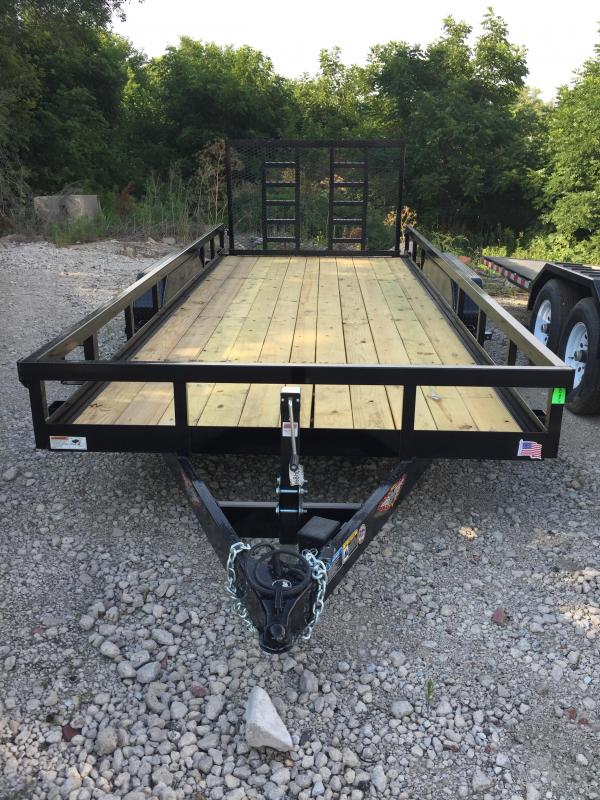 2019 H and H Trailer 82X18 HEAVY TRS 10K