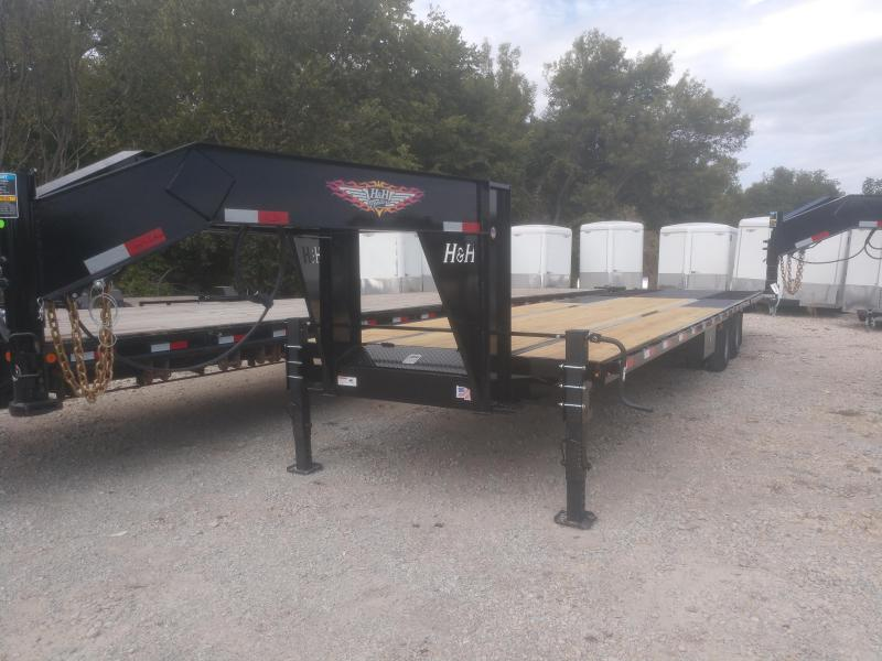 2020 H and H Trailer 25+10 HYD TAIL GN 19LB 20K