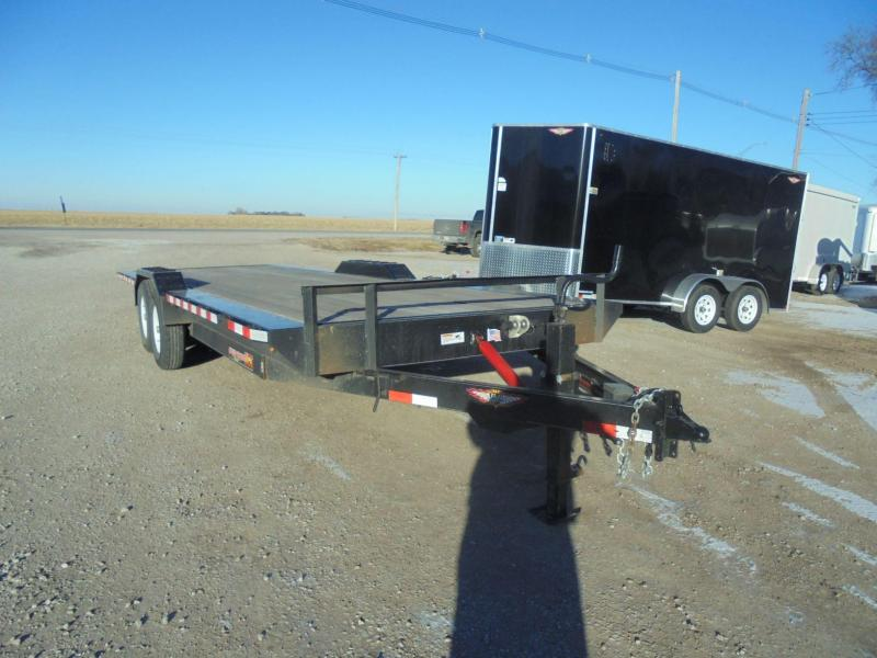 2018 H & H Trailers 24' MX Speedloader Equipment Trailer