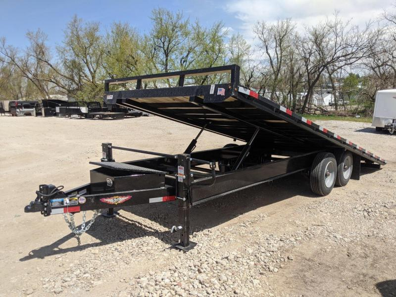 2020 H and H Trailer 102X22 PTHD 10LB 17.6K BUMPER PULL