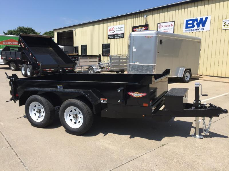 2020 H and H Trailer 62 X 10 UTILITY DUMP 15IN SW 7K BRAKE