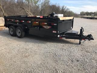 2020 H and H Trailer 83X16 DBW DUMP BOX 16K