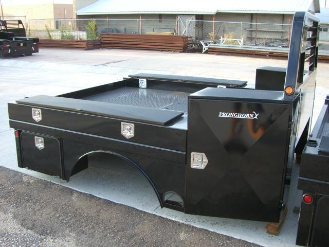 Pronghorn Utility Flatbeds - For the serious worker who needs lots of storage!