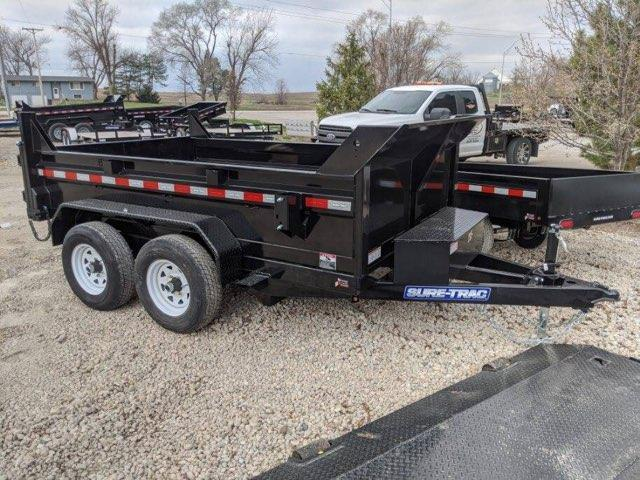 2020 Sure-Trac 6 X 10 10K SD Low Profile Dump Trailer