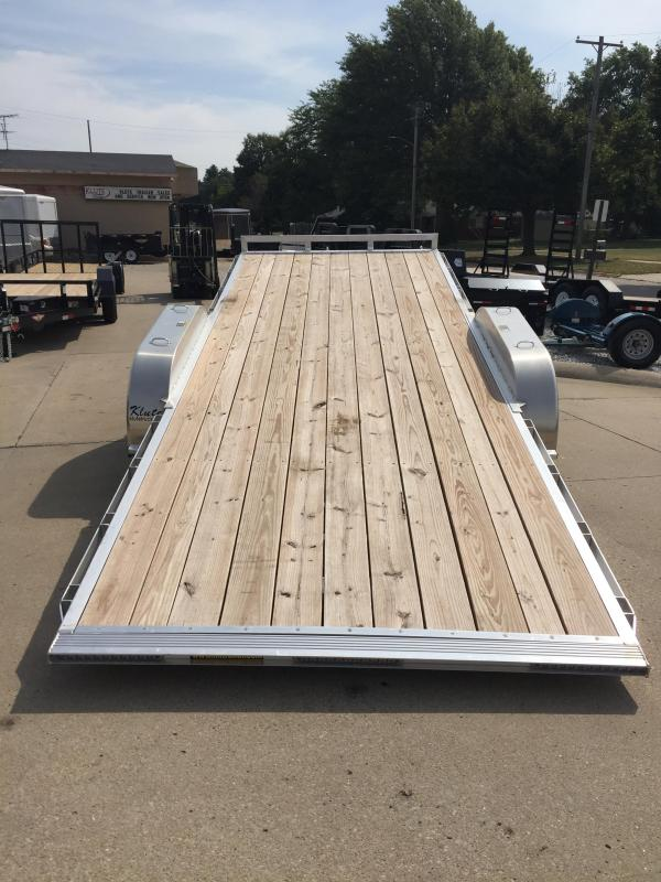 2019 H and H Trailer 82X20 ELEC. SPEEDLOADER ALUM 14K