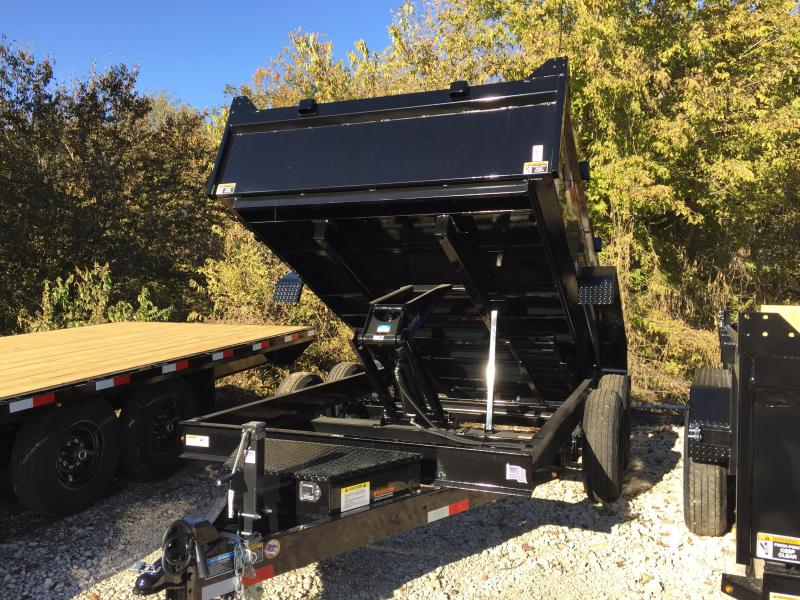 2020 H and H Trailer 83X12 DBW DUMP BOX 14K