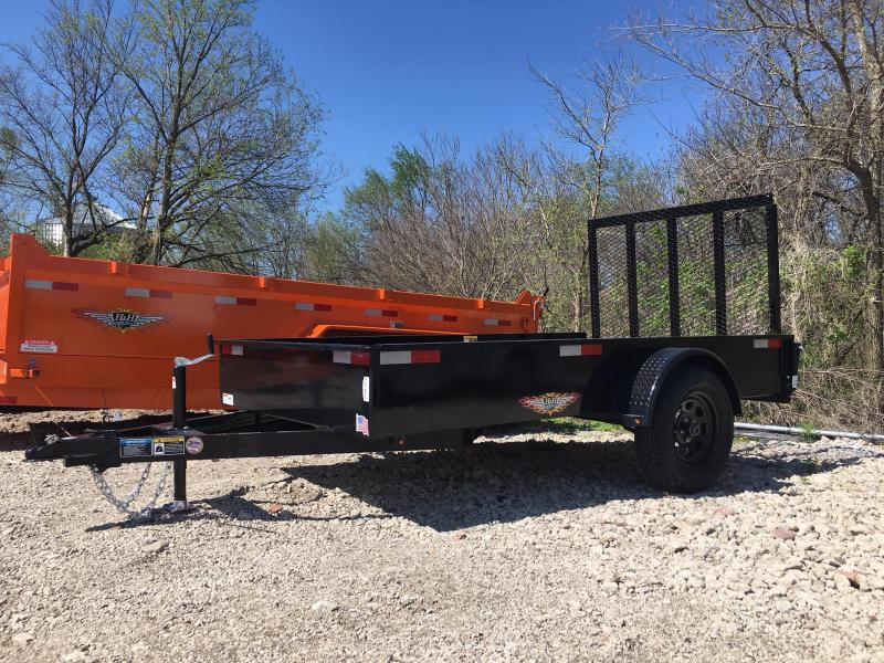 2020 H and H Trailer 66X10 STEEL SOLID SIDE 3.5K