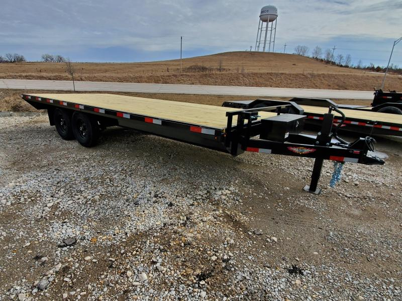 2020 H and H Trailer 102X20 14K DECKOVER LIGHT DUTY