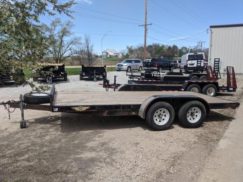 2010 H and H Trailer 16' Car / Racing Trailer