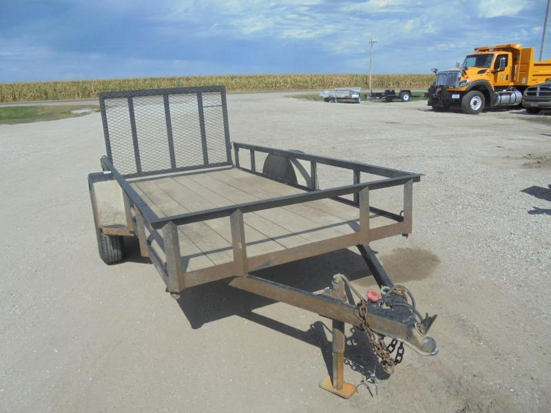 2017 Finish Line 5X10 Railside Utility Trailer