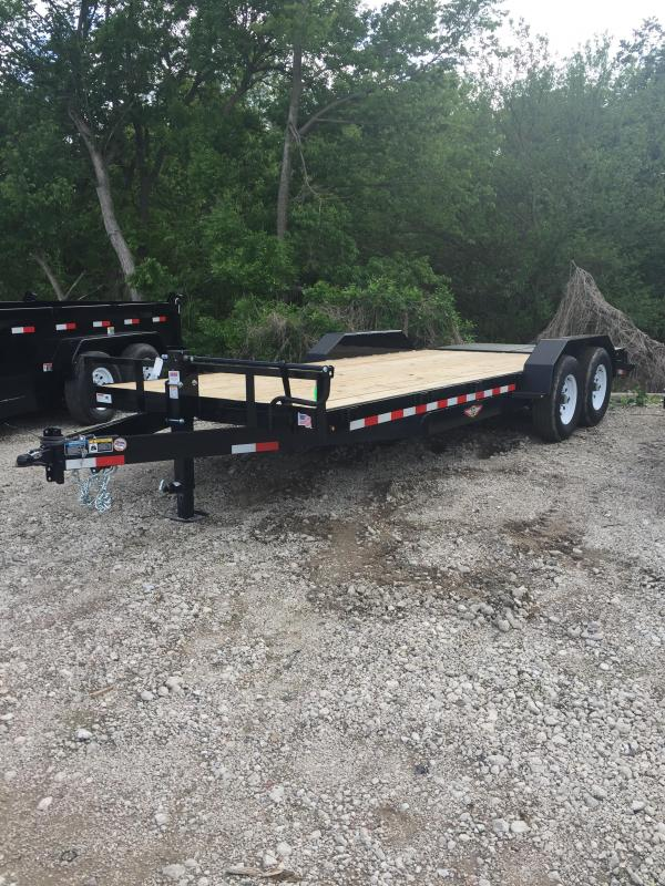2019 H and H Trailer 82X16+4 IL SUPER DELUXE 14K
