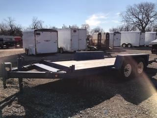 2004 Towmaster Trailers 8x16 Flatbed Trailer