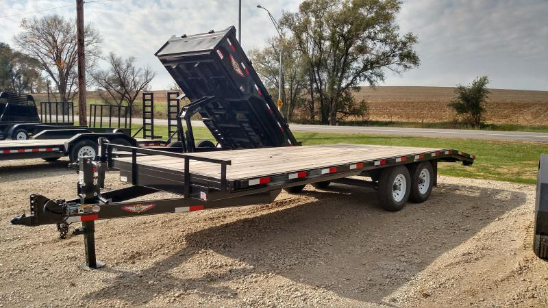 2018 H and H Trailer 82x24+4 HEAVYDUTY LOPRO 14K