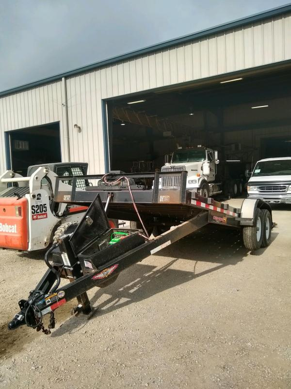 2016 H and H 20' EX Speedloader Equipment Trailer
