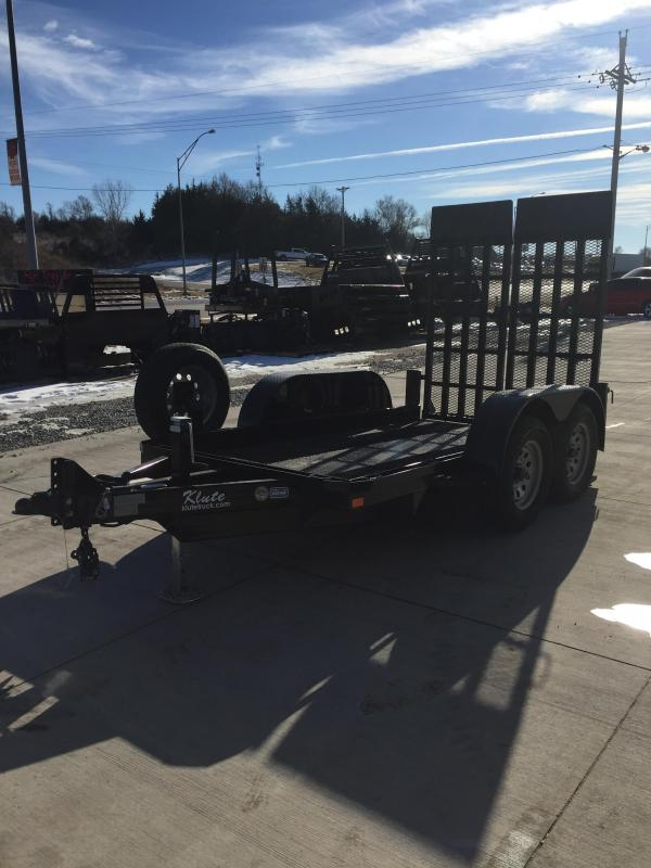 2019 Nation Tank and Trailer Scissor Lift Trailer 5 x 10 Equipment Trailer