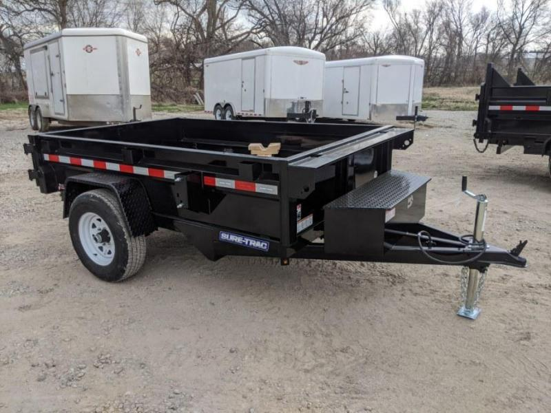 2020 Sure-Trac 5 X 8 5K Low Profile Homeowner Dump Trailer